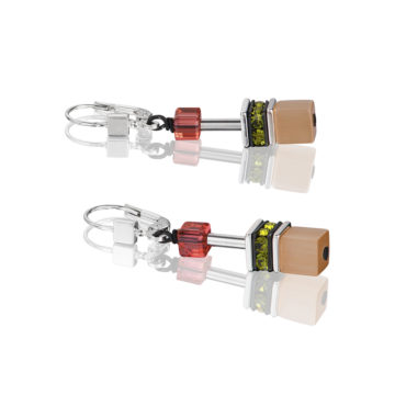 coeur de lion geocube drop earrings