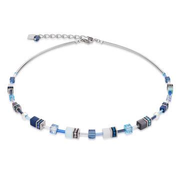 coeur de lion range of shades of blue geocube necklace diamond jewellers