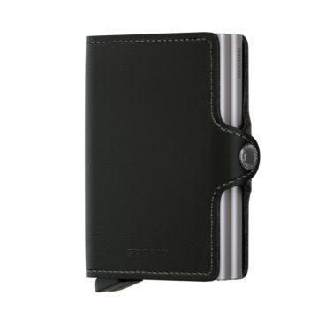 black leather rfid credit card by secrid