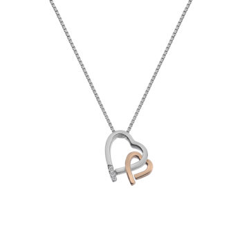 hot diamonds necklace valentines day