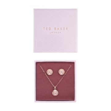 Ted Baker Valentines day earrings and pendant