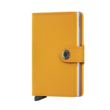 yellow credit card holder by secrid