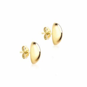 9ct yellow gold ball stud earrings