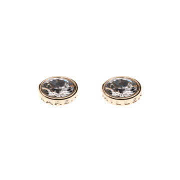 Karen Millen clear cz earrings