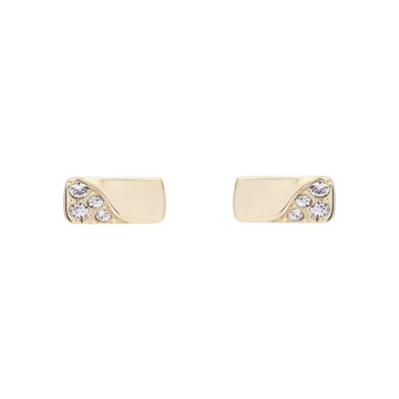 Karen Millen stoneset earrings