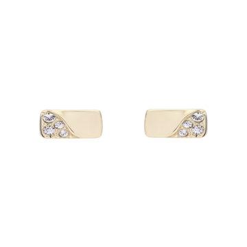 Karen Millen stoneset earrings