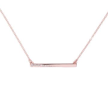 Rose gold plated Karen Millen Pendant