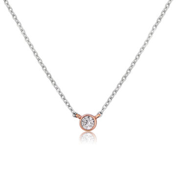 waterford silver dot pendant john swan jewellers arklow