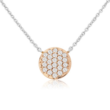 waterford silver rose circle multi cubic zirconia disc john swan jewellers