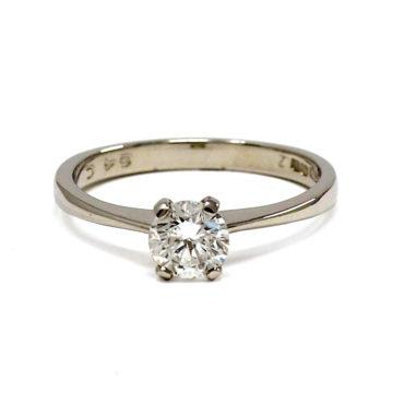 platinum diamond solitaire engagement ring john swan jewellers arklow co wicklow