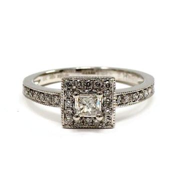 platinum engagement ring set john swan jewellers arklow