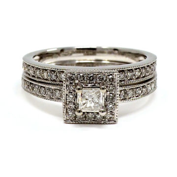 platinum engagement ring set john swan jewellers arklow co wicklow
