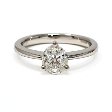 18ct white gold diamond engagement ring john swan jewellers arklow