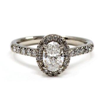 platinum diamond engagement ring john swan jewellers arklow