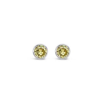 birthstone earring november azara john swan jewellers
